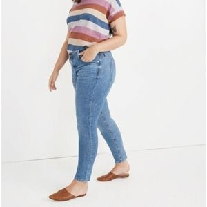 "Madewell 9"" high-rise skinny jeans 35 EU"